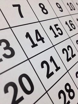 Calendar Apr 17